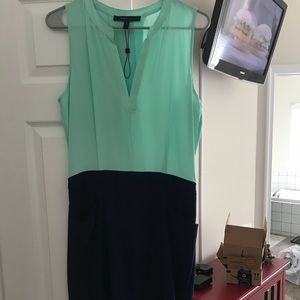 BCBG color block mini